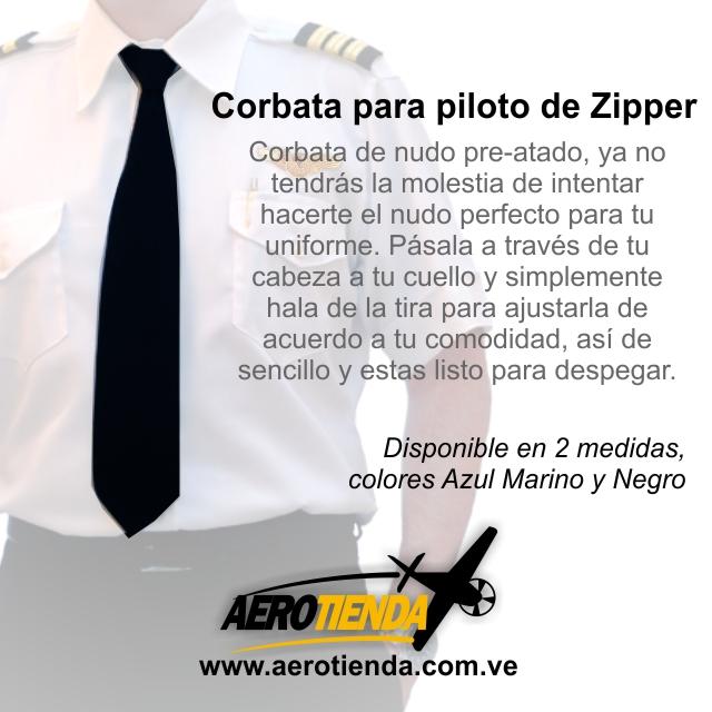 Corbatas para pilotos profesionales